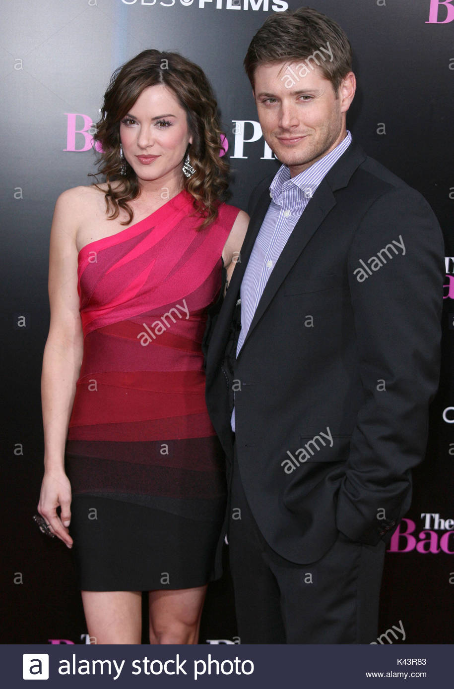 Jensen ackles stock photos jensen ackles stock images alamy danneel harris and jensen ackles the back up plan premiere kristyandbryce Images
