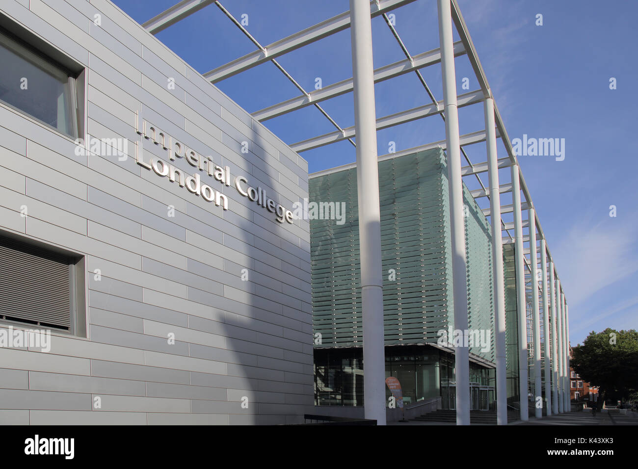 imperial college of science and technology london - Stock Image