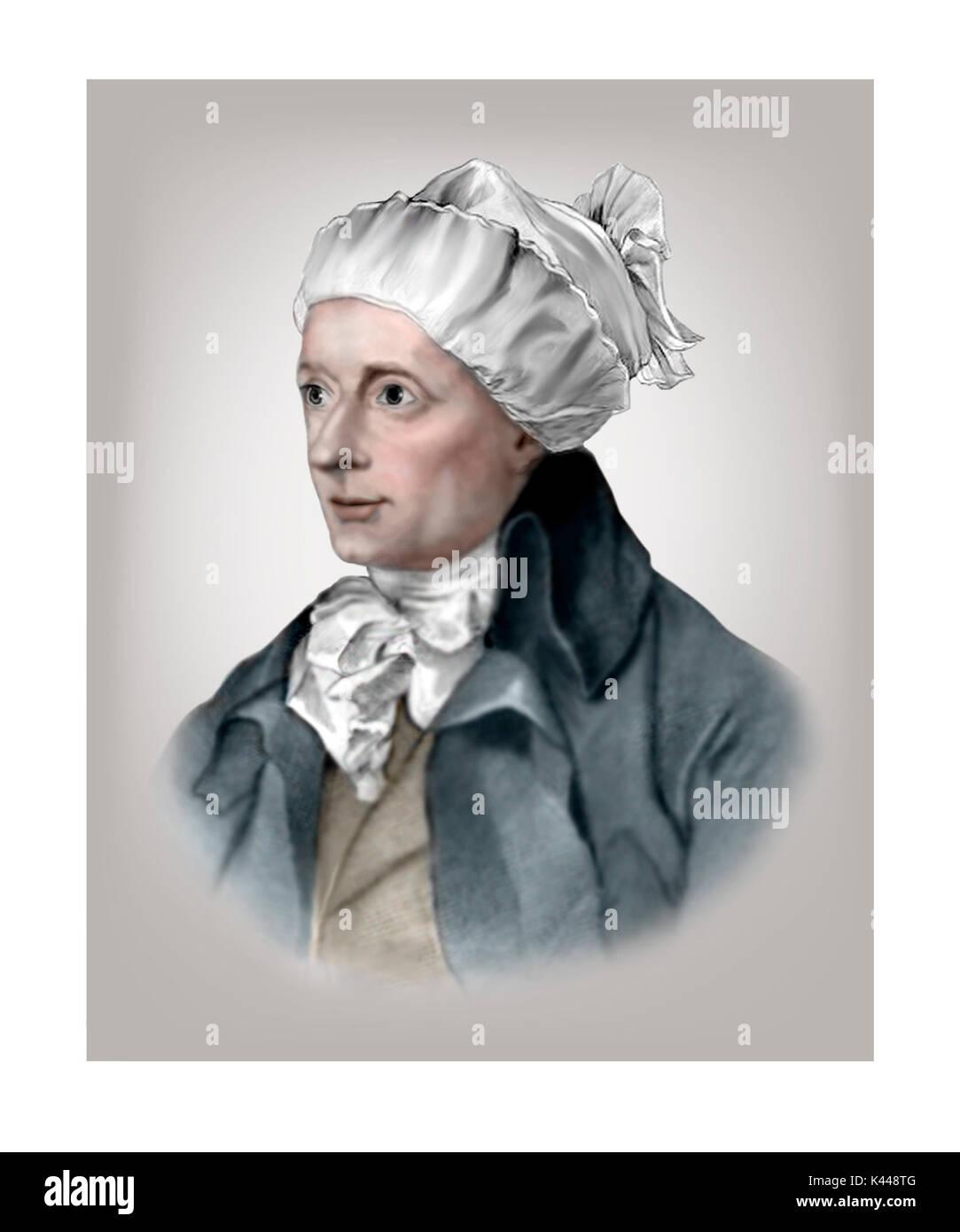 William Cowper, 1731 - 1800, English Poet, Hymnodist - Stock Image