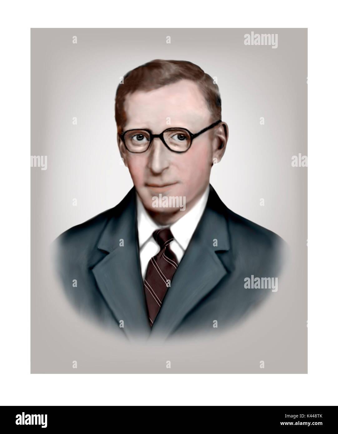 Thomas Harold Flowers, 1905 - 1998, English Engineer, Computer Scientist Stock Photo