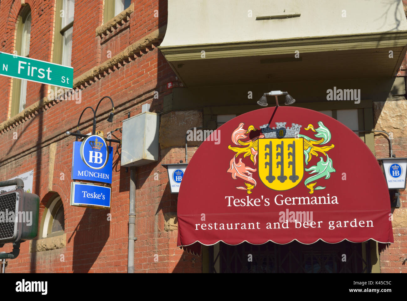Teske S Germania Restaurant And Beer Garden San Jose Ca