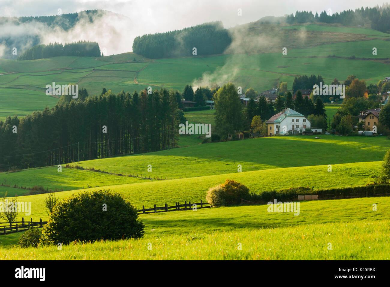 Altopiano of Asiago, Province of Vicenza, Veneto, Italy. - Stock Image