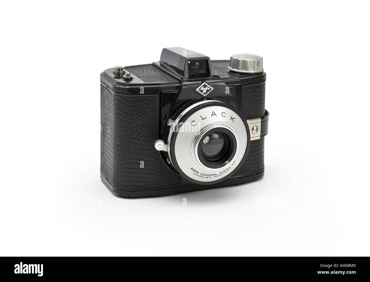 Vintage Agfa 'Clack' film camera from the early 1960's - Stock Image