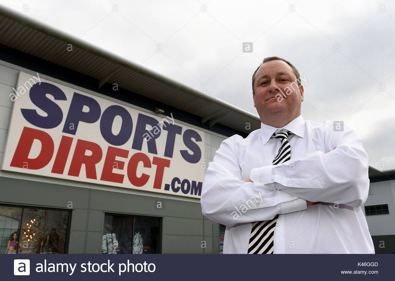 File photo dated 21/03/16 of Sports Direct founder Mike Ashley. The retailer has been accused of reneging on a promise to offer guaranteed hours to staff on zero hour contracts in a fresh blow to the company ahead of its annual meeting. - Stock Image