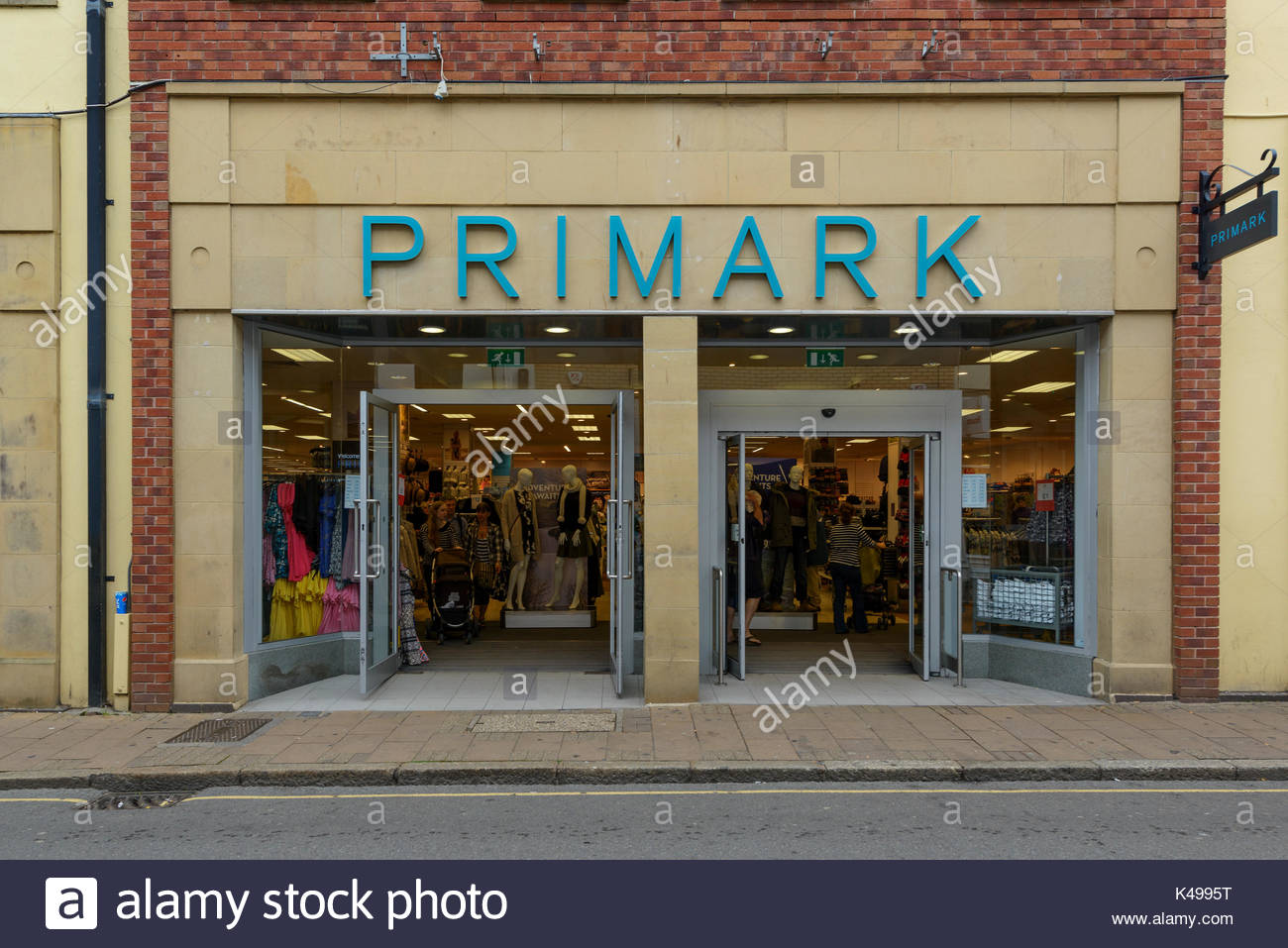 Primark clothes shop Barnstaple Devon England UK & Primark clothes shop Barnstaple Devon England UK Stock Photo ...