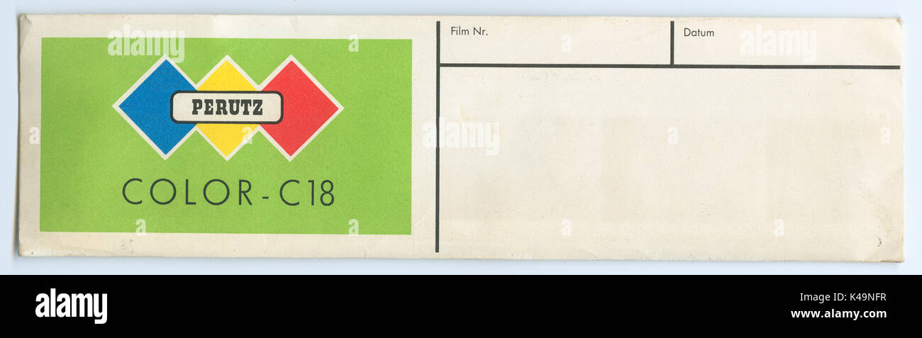Perutz Color C18 - Stock Image
