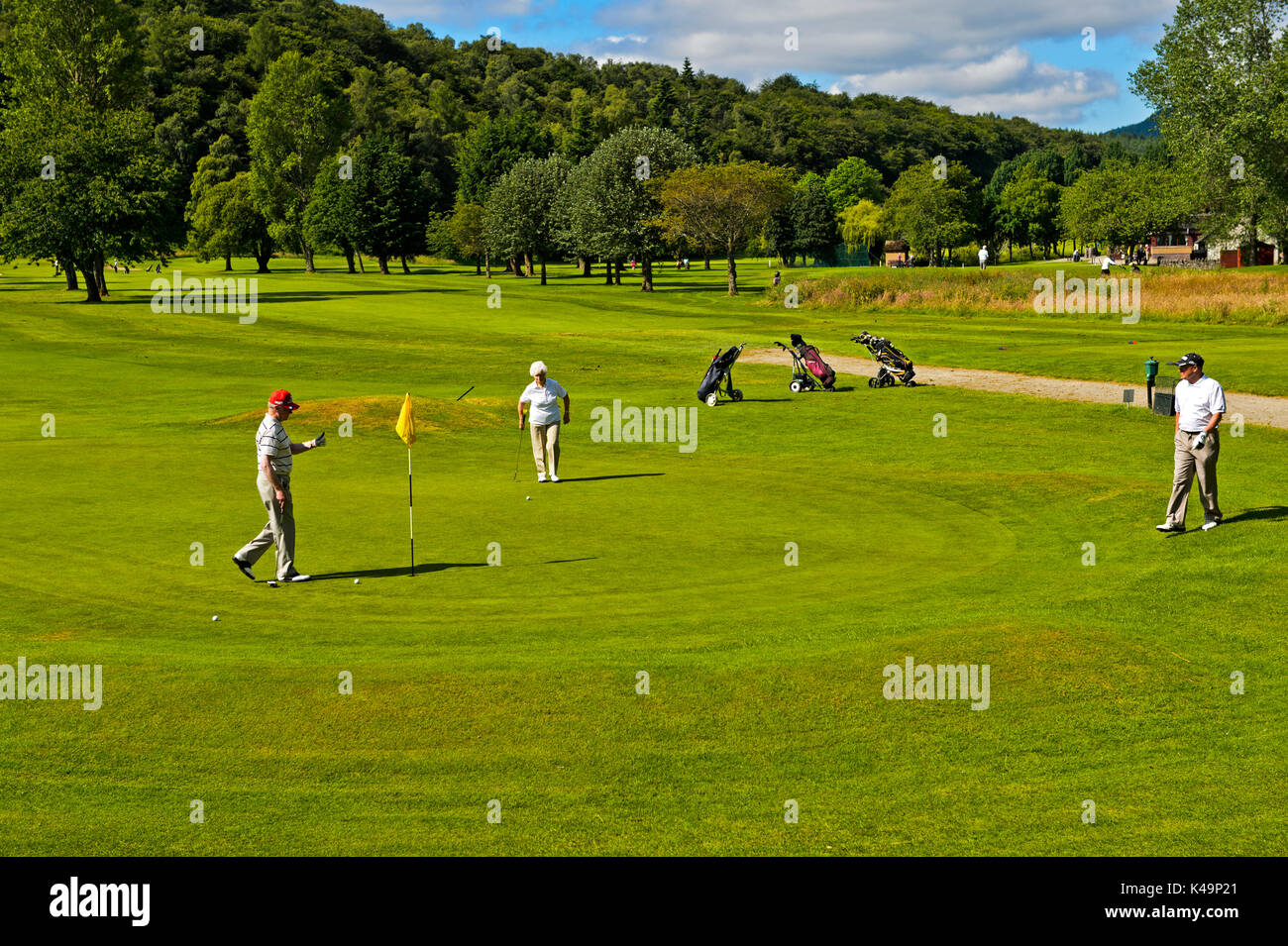 Torvean Golf Club On The Outskirts Of Inverness, Scotland, Great Britain - Stock Image