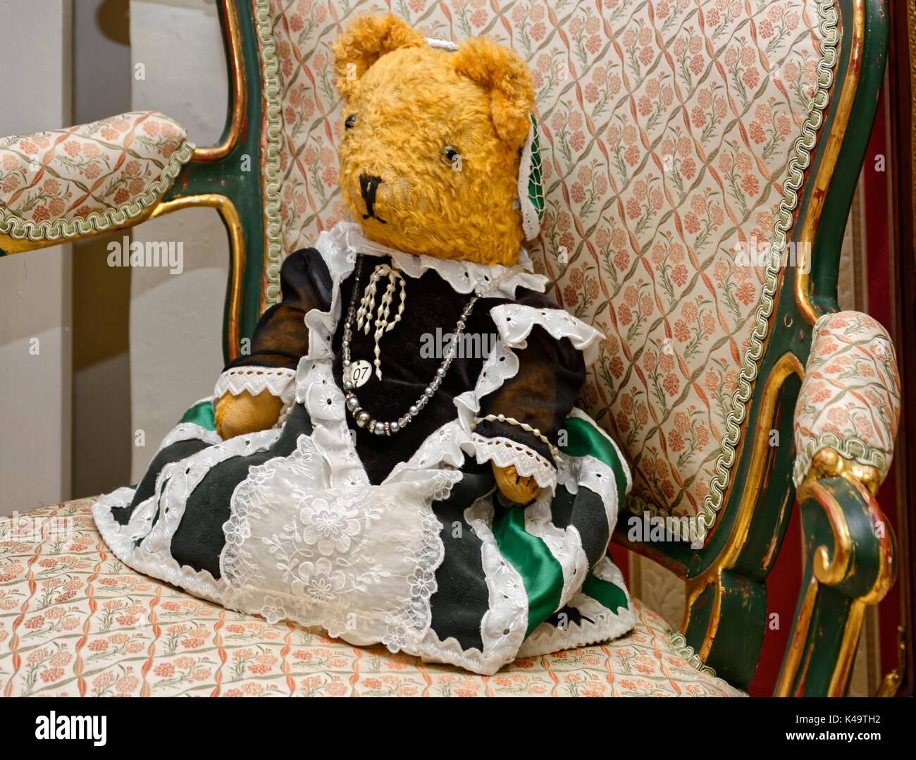Teddy Bear Sitting On A Chair Stock Photos Amp Teddy Bear