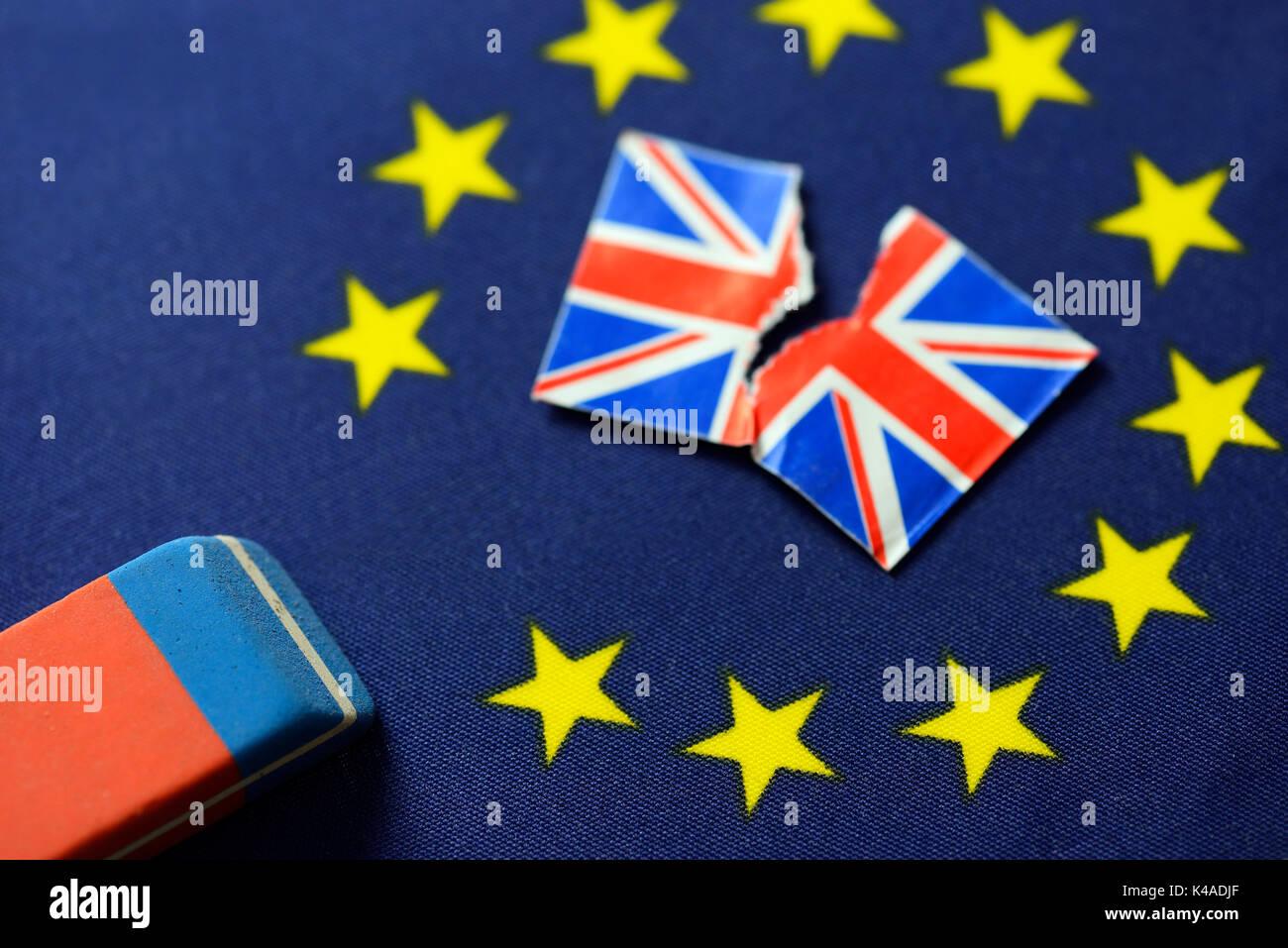 Eu Flag Star Brexit Stock Photos & Eu Flag Star Brexit Stock