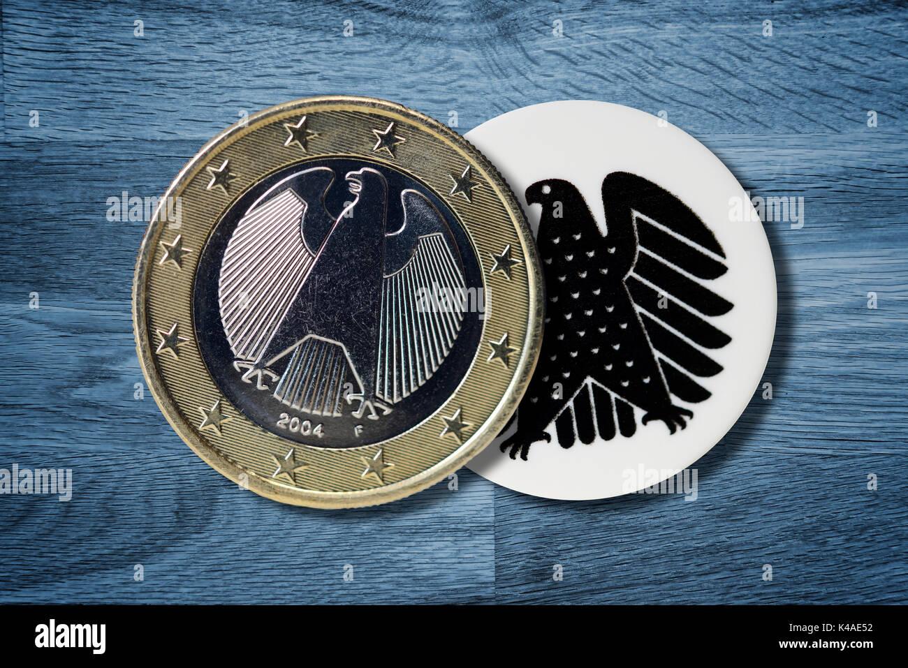 German Coin Stock Photos German Coin Stock Images Alamy