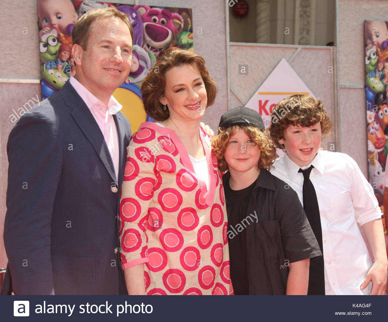 Joan Cusack Arrivals For The Toy Story 3 Premiere Stock Photo