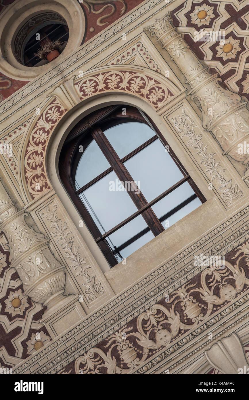 Detailansicht Eines Palastes - Stock Image