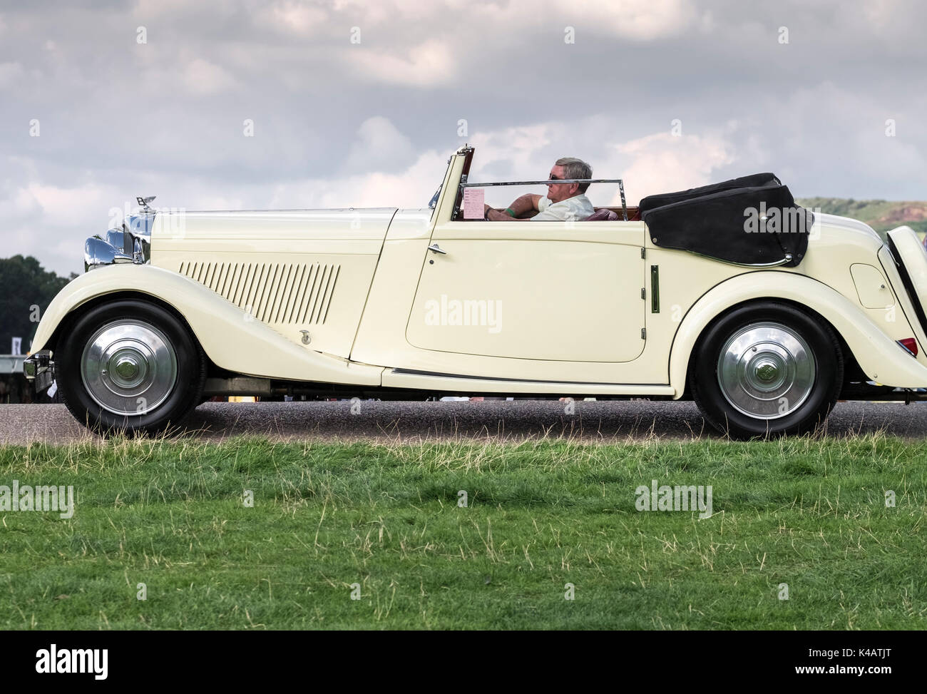 Open Top Car High Resolution Stock Photography And Images Alamy