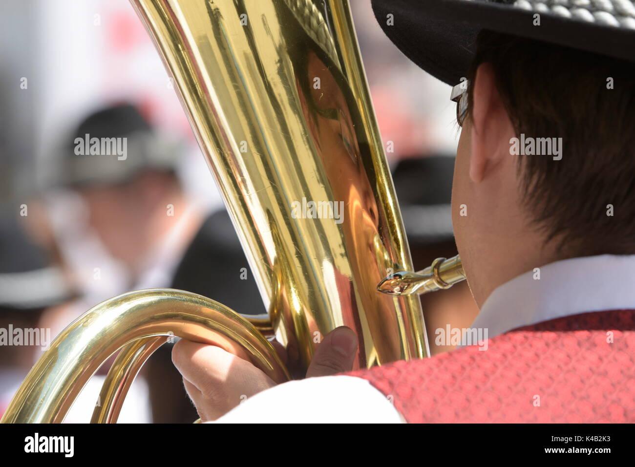 Austrian Wind Music - Stock Image