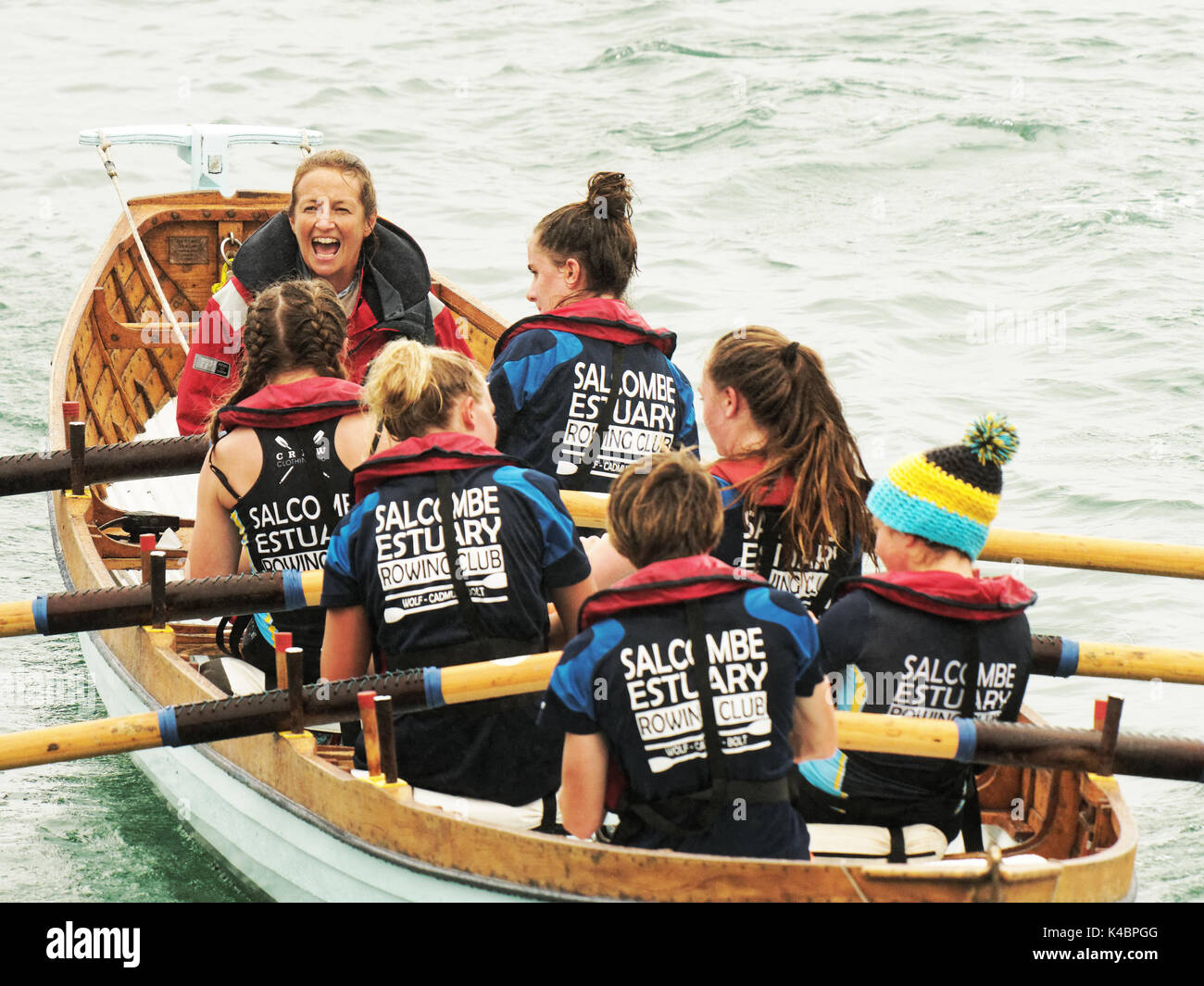 03rd, September, 2017.  Ladies Annual championships and under 16 years of age categories of  historic Cornish Traditional - Stock Image
