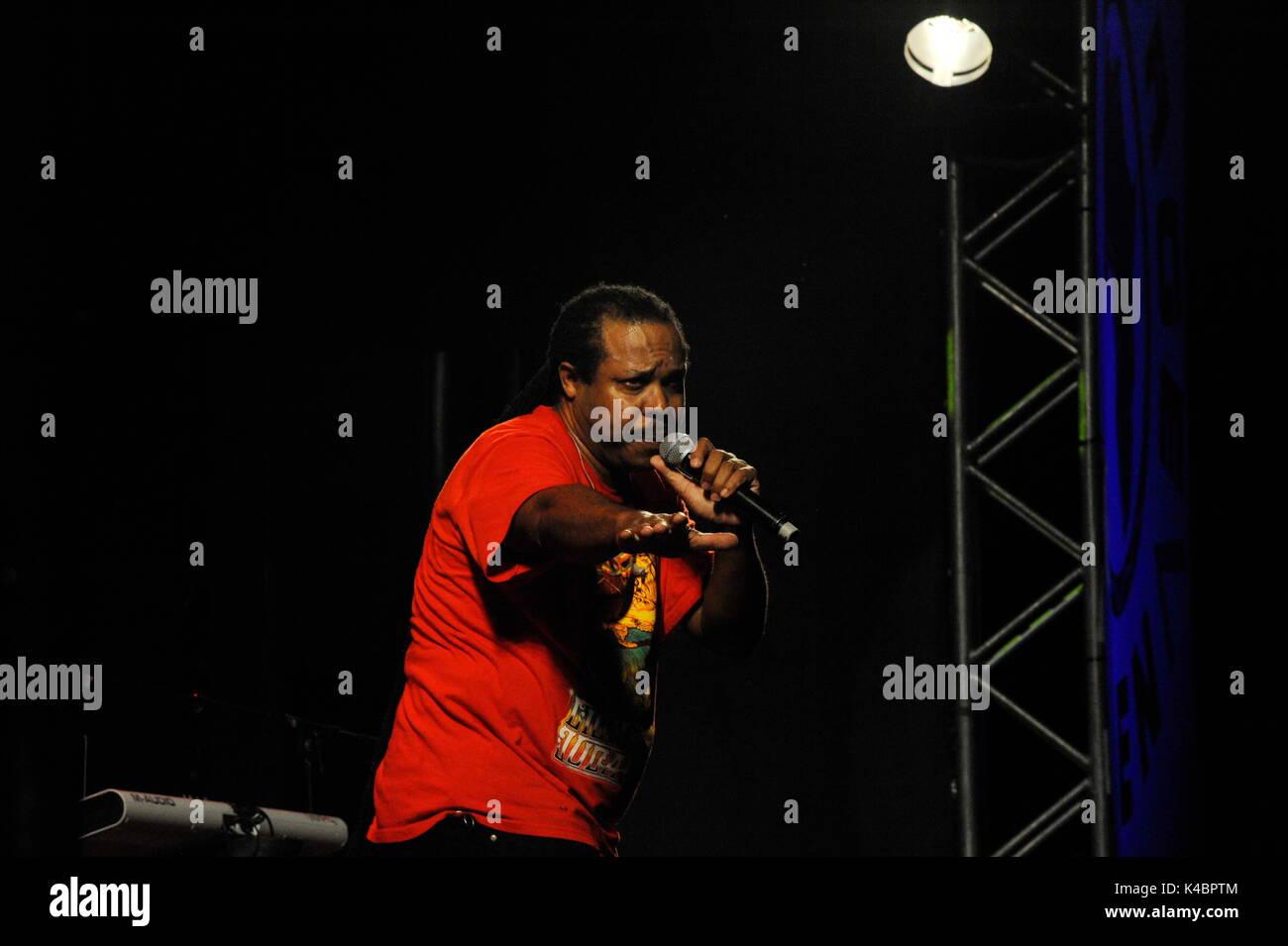 Inner Circle, Kris Bentley In Concert - Stock Image