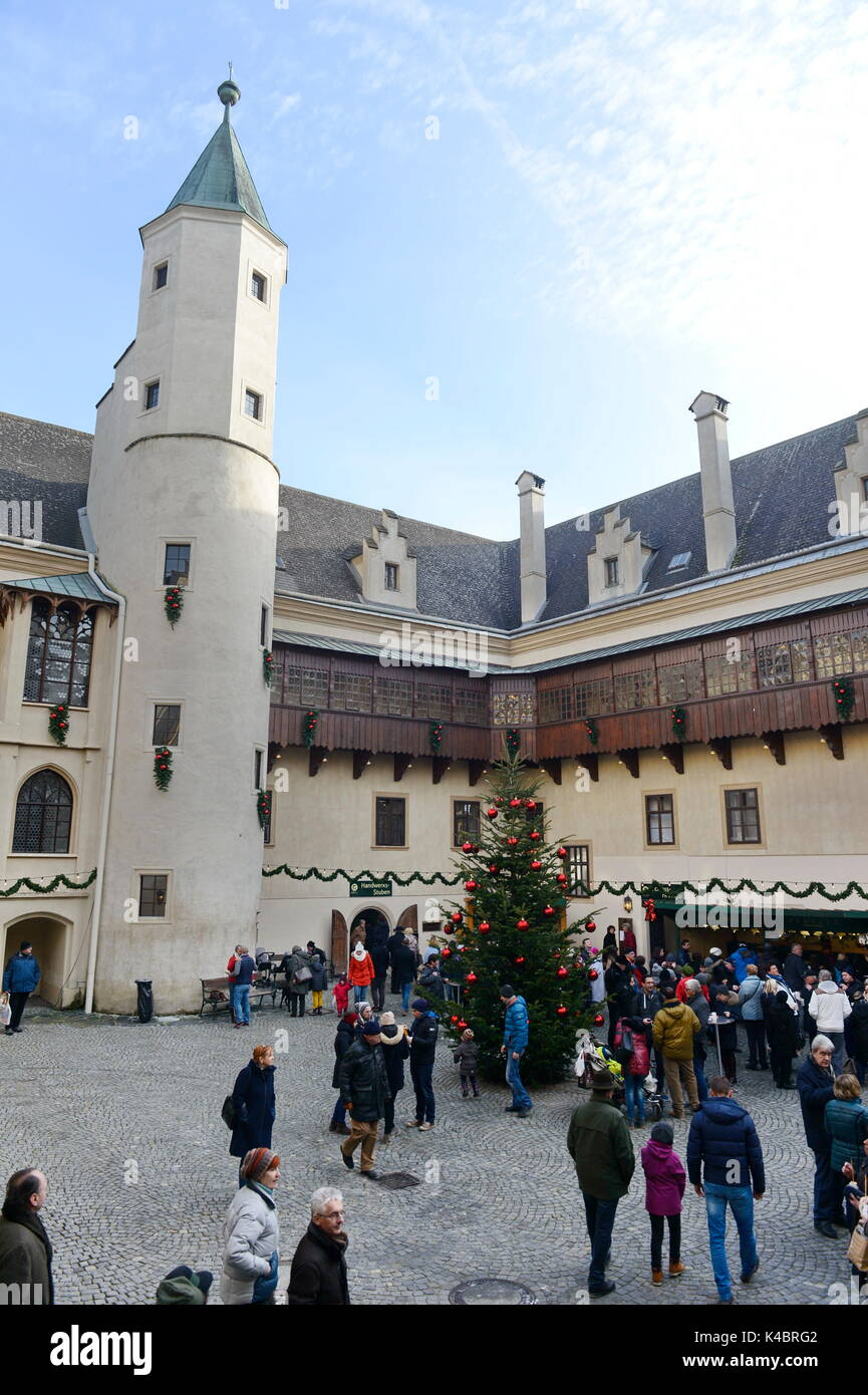 Advent At The Castle Grafenegg - Stock Image