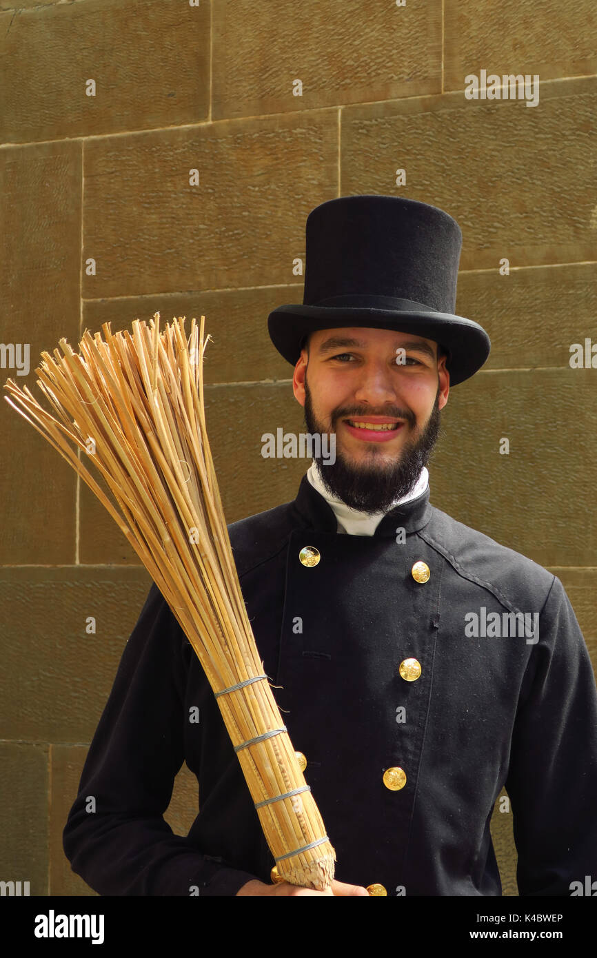 Chimney Sweeper - Stock Image