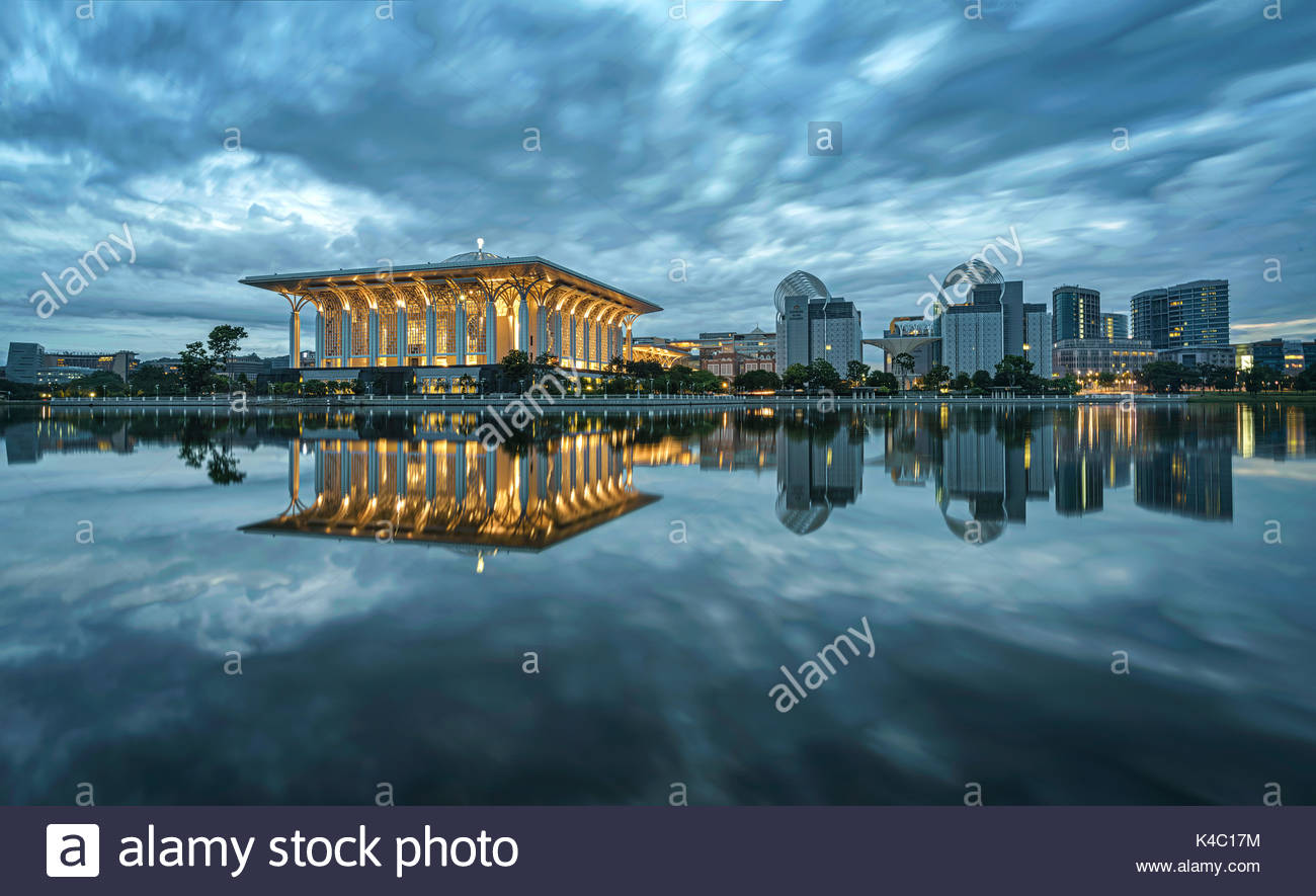 Putrajaya, the quite city - Stock Image