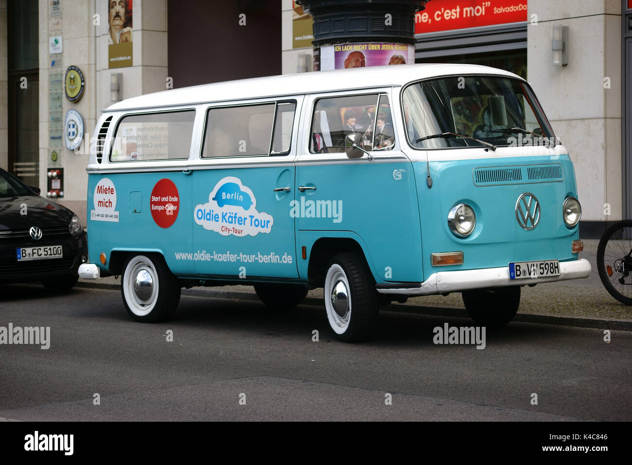 Old Vw Bus - Stock Image