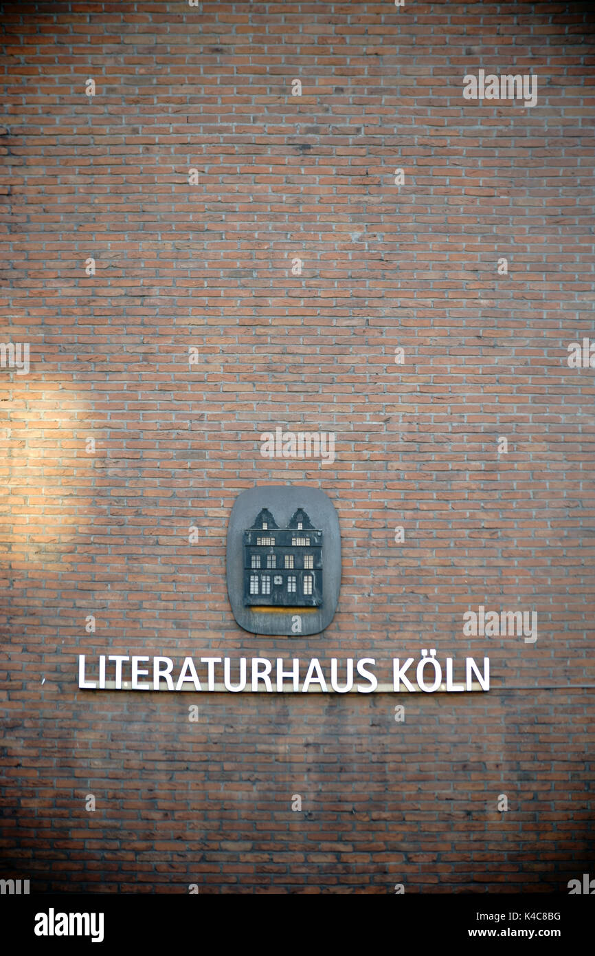House Of Literature Cologne - Stock Image