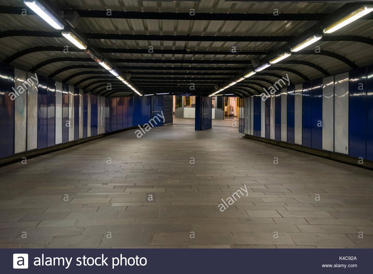 Underground In Oslo Stock Photo