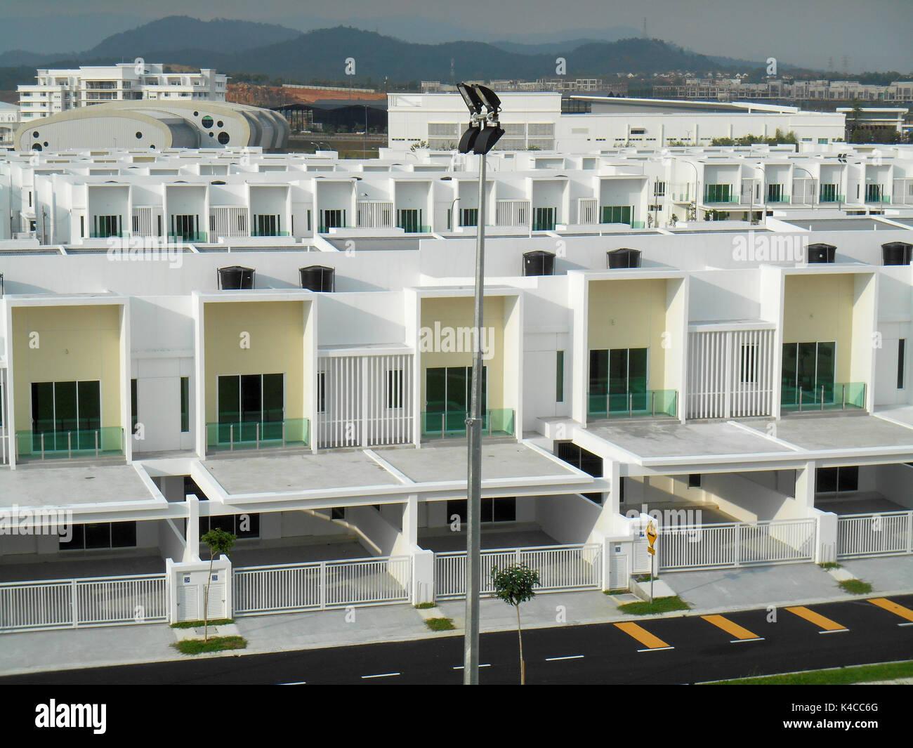 Seremban Malaysia March 29 2017 Modern Design Double Story High Stock Photo Alamy