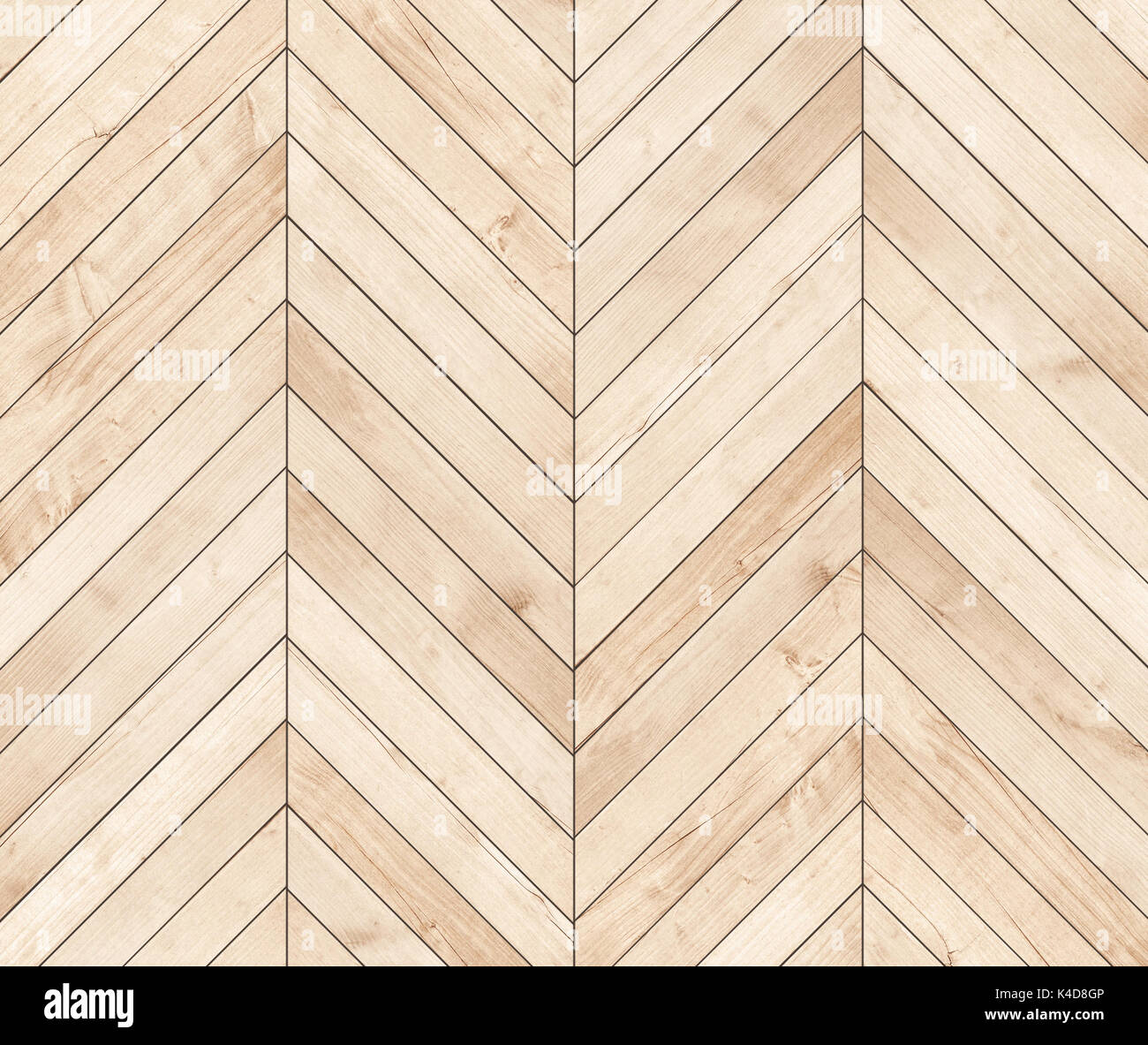 Natural Brown Wooden Parquet Herringbone Wood Texture Stock Photo