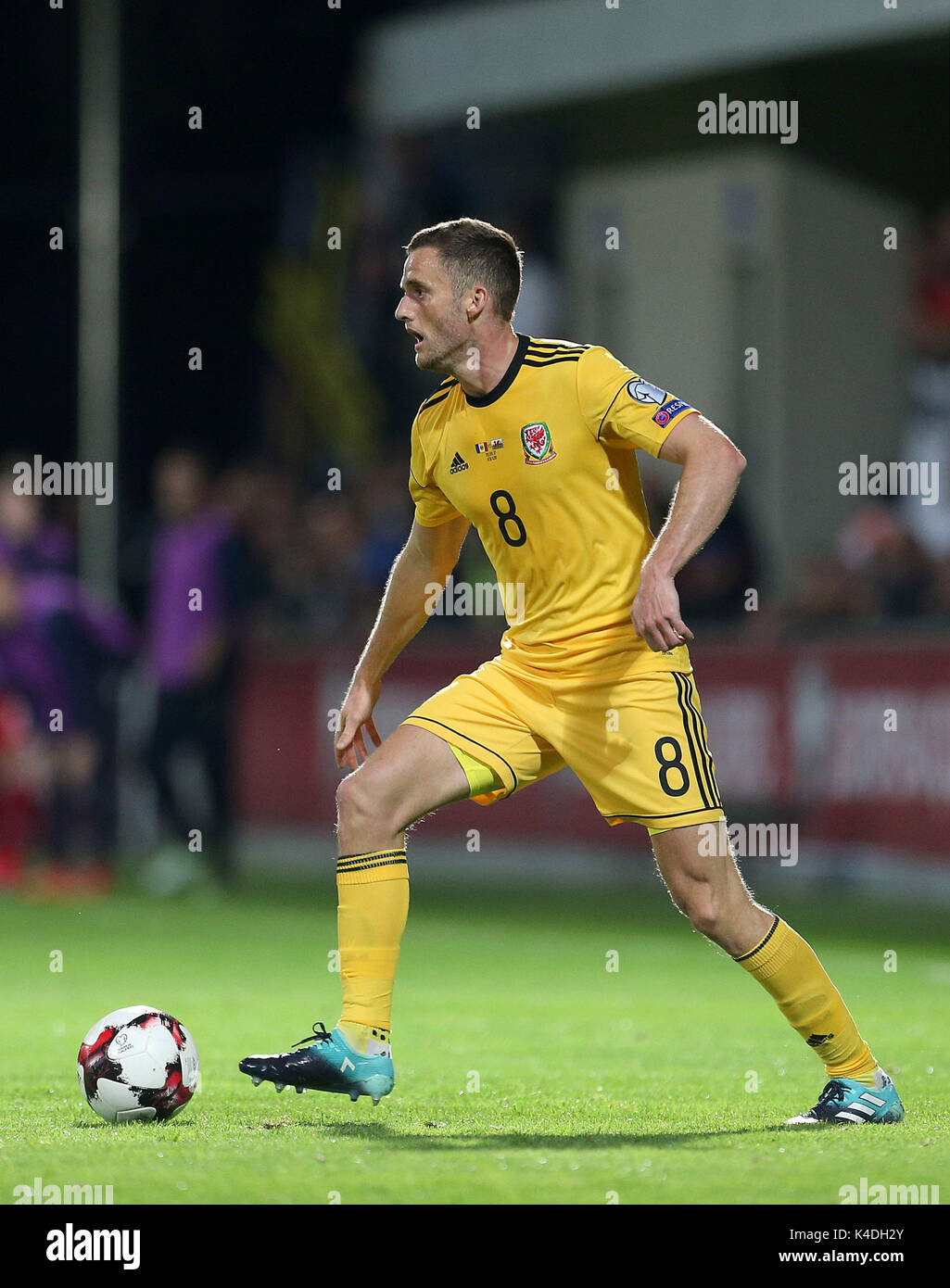 Wales Andy King During The 2018 Fifa World Cup Qualifying Group D Match At Stadionul Zimbru In Chisinau Moldova Press Association Photo
