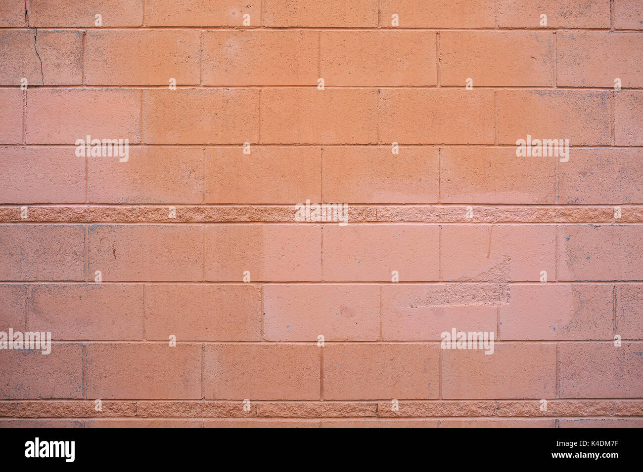 Real stone wall texture photography - Stock Image