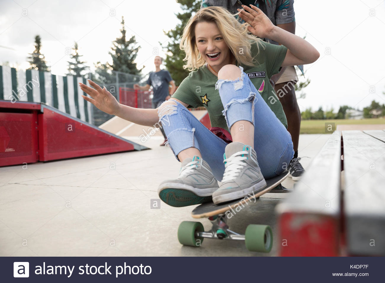 d6d57fbe Riding A Skateboard Stock Photos & Riding A Skateboard Stock Images ...