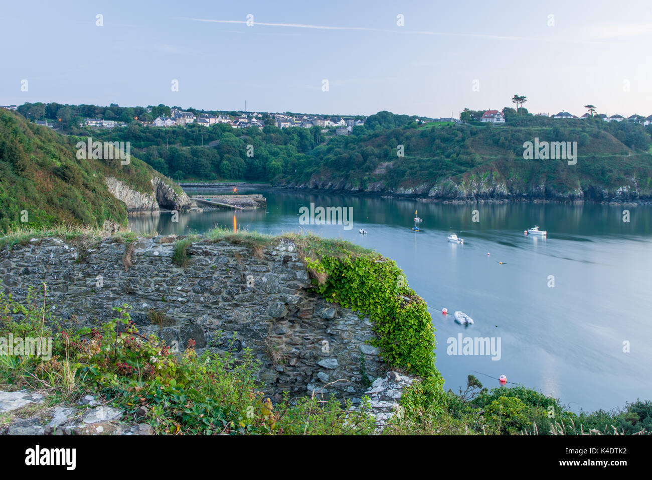 Fishguard bay - Stock Image