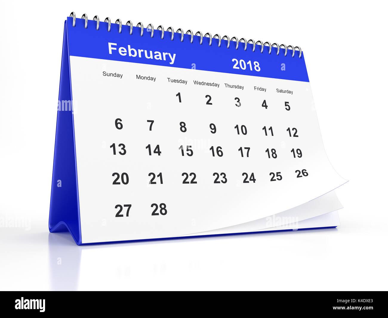 Calendar 2018 Stock Photos Amp Calendar 2018 Stock Images