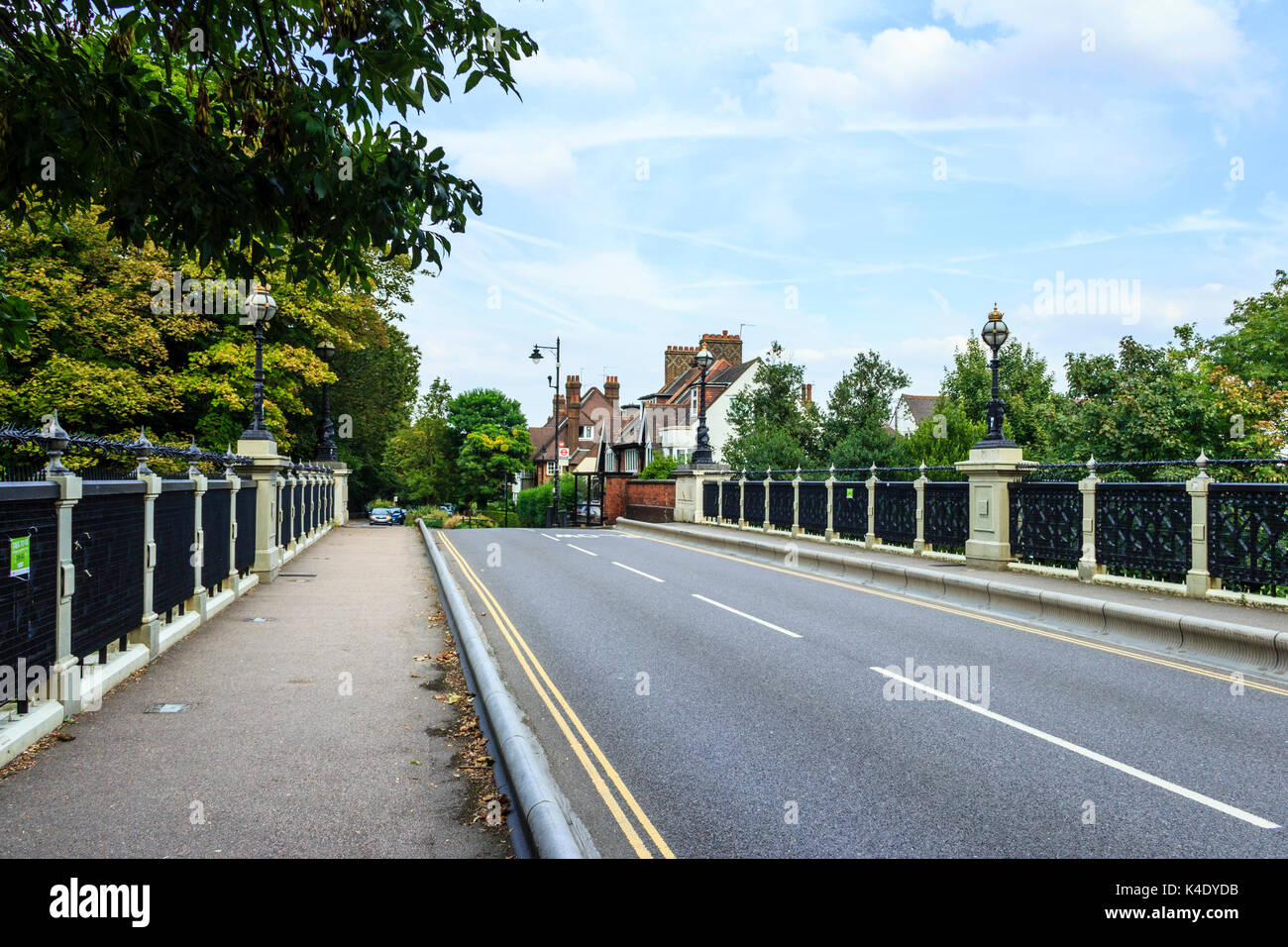 Hornsey Lane Bridge, the Victorian 'Highgate Archway', infamous for numerous suicides - Stock Image