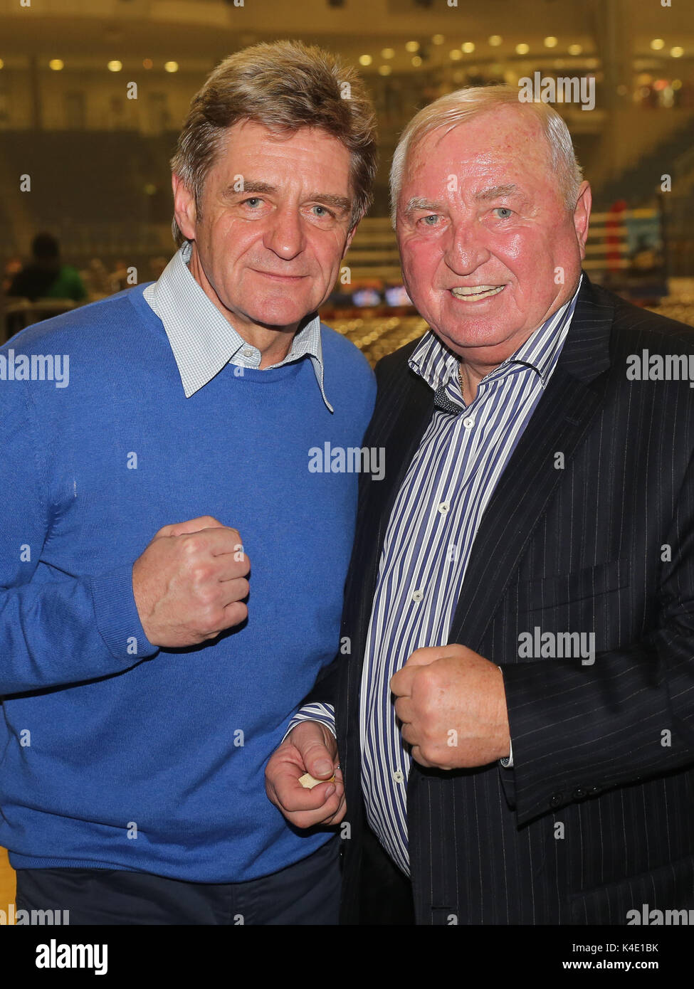 Georg Bramowski And Ulli Wegner Team Sauerland Stock Photo