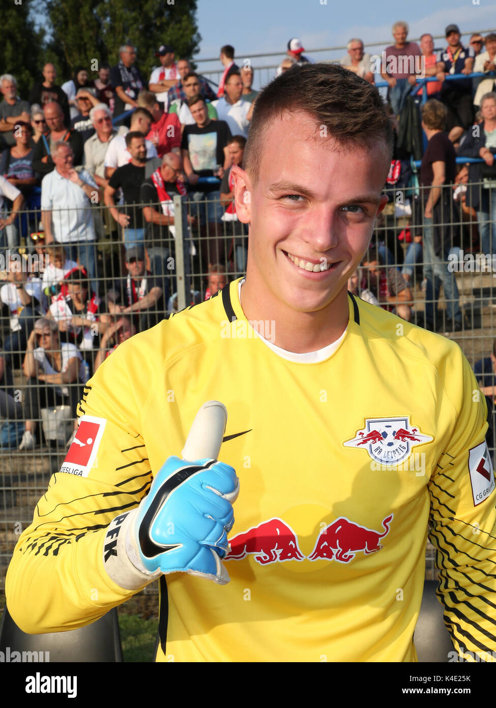 Goalkeeper Philipp Köhn Rb Leipzig - Stock Image