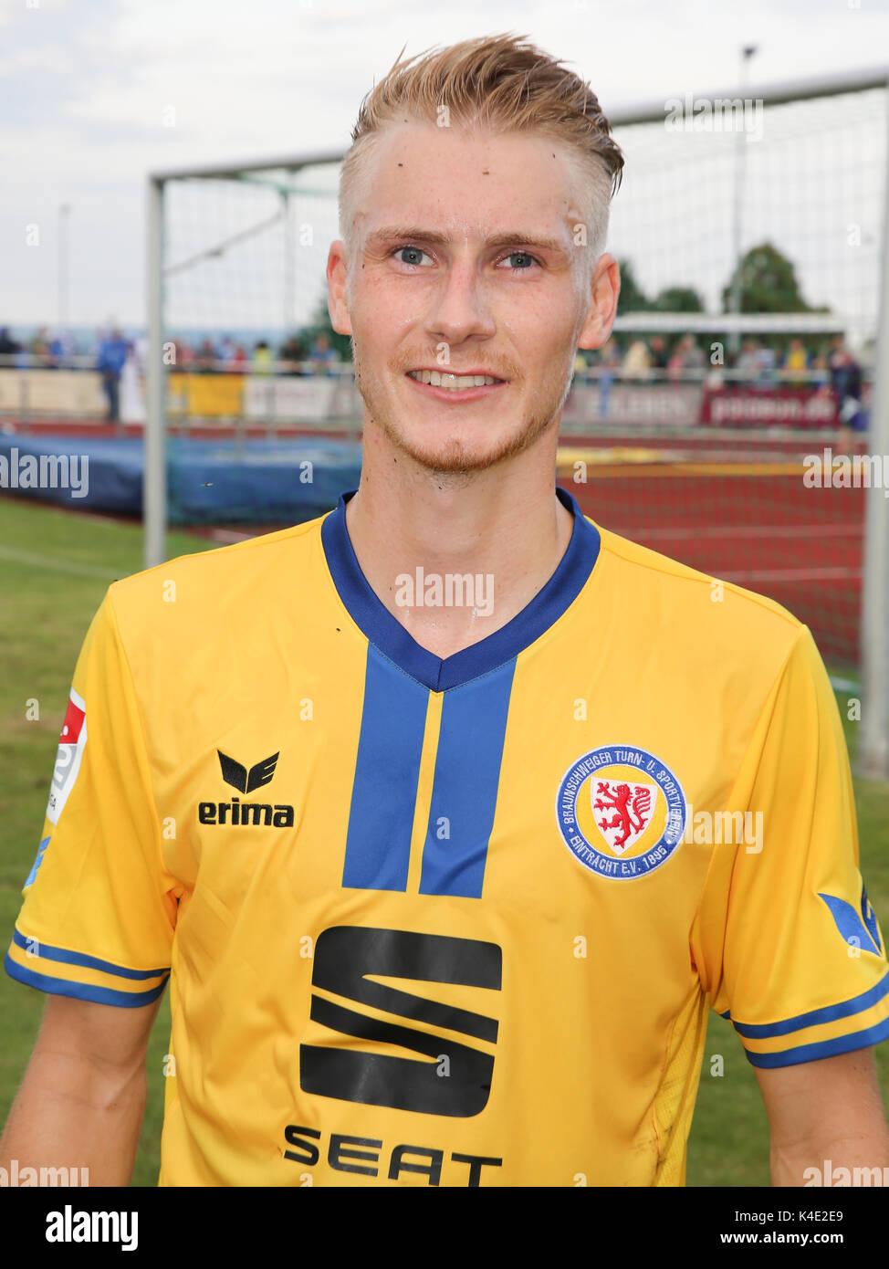 Maximilian Sauer Eintracht Braunschweig - Stock Image
