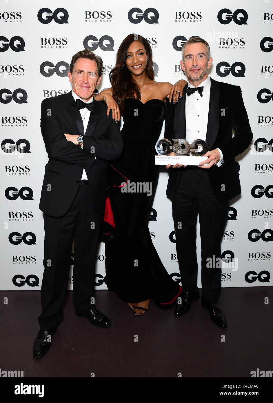 6c9fa030fe Rob Brydon (left) and Steve Coogan with their Best Comedians award pose  with Jourdan