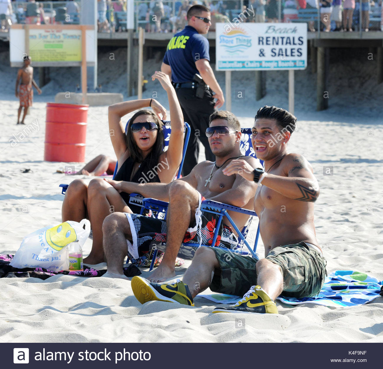 Jersey Shore Cast Stock Photos & Jersey Shore Cast Stock