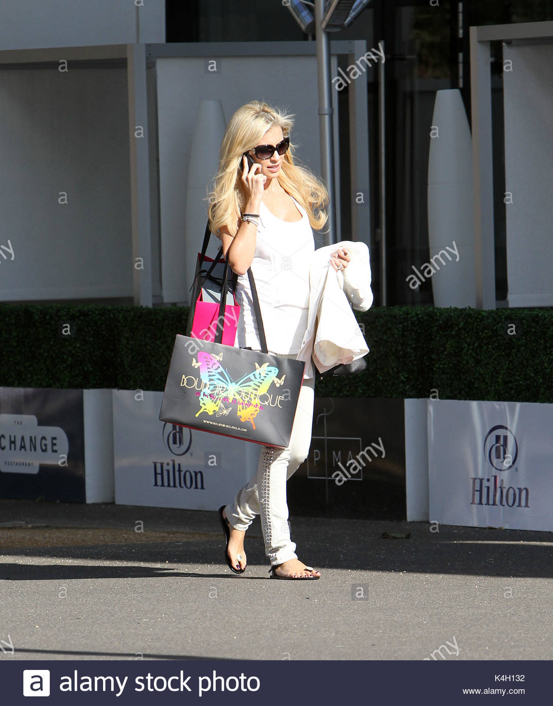 Claudine Keane. Irish WAG Claudine Keane spotted in Liverpool after a  shopping spree at her favourite fashion boutique 694cc305bb0