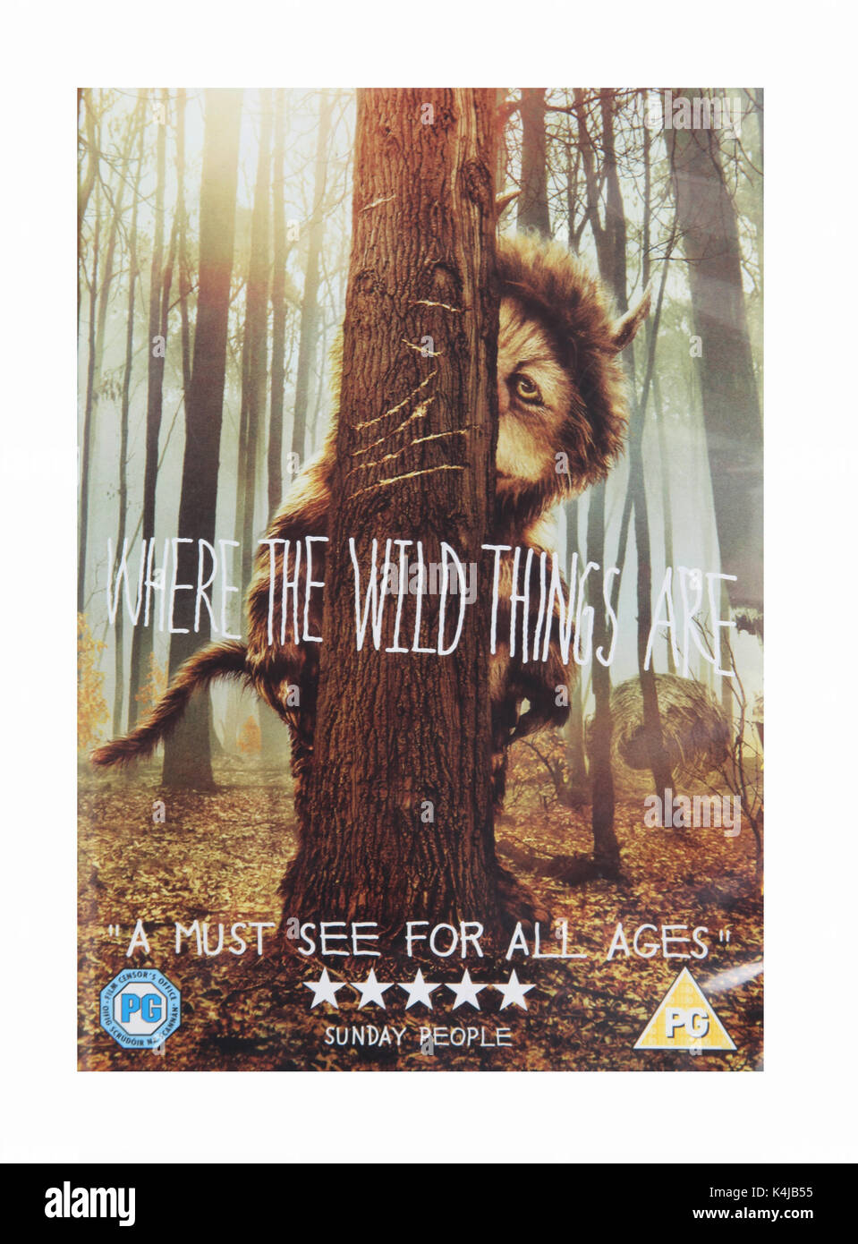 The film, Where the Wild Things Are, directed by Spike Jonze - Stock Image
