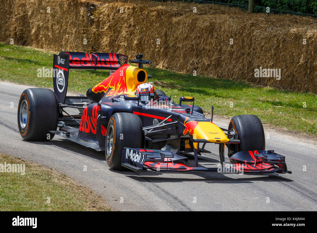 2011 Red Bull Renault RB7 F1 Car With Driver Pierre Gasly At The 2017 Goodwood