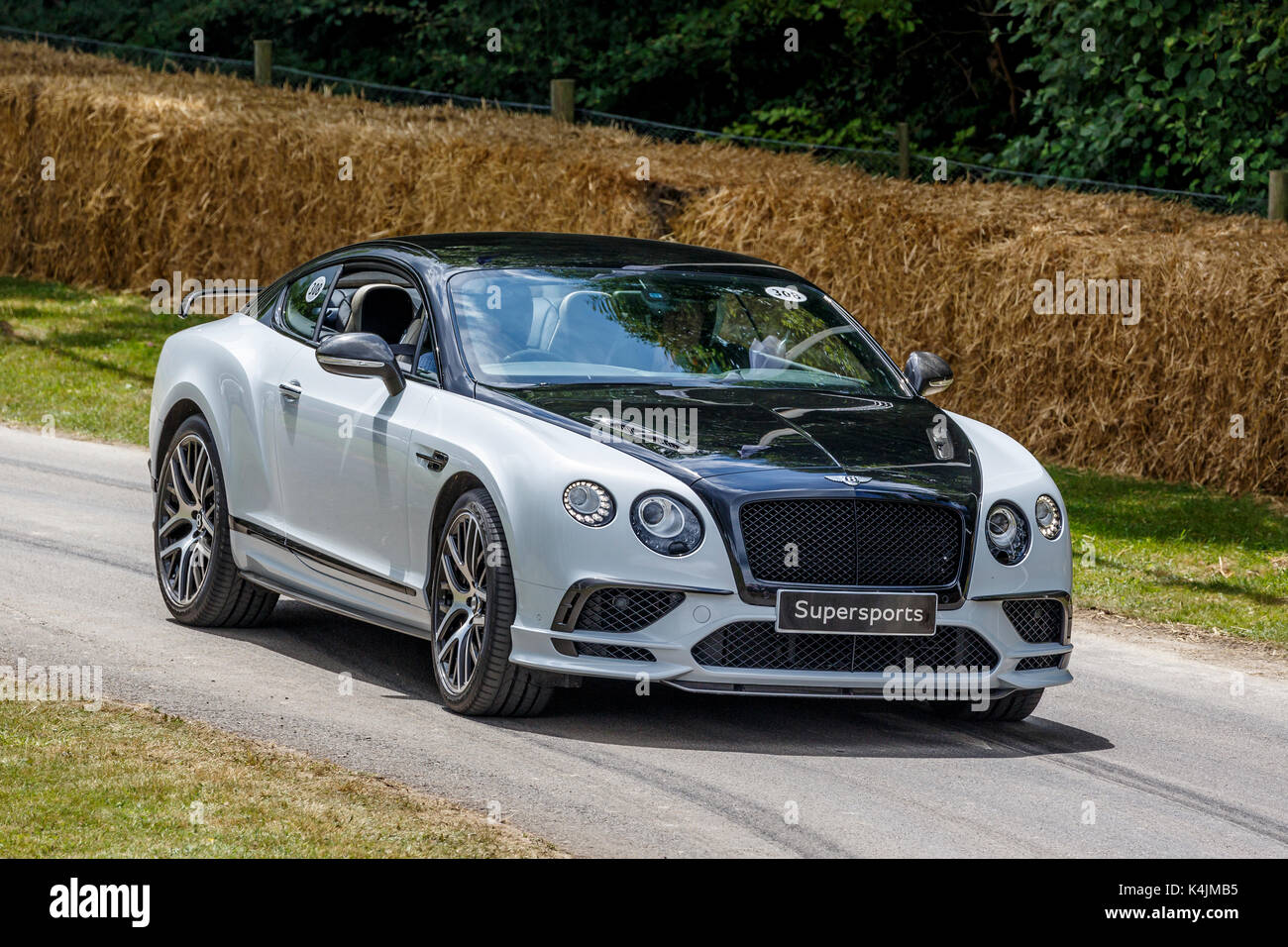 2017 Bentley Continental GT Supersports at the 2017 Goodwood ...
