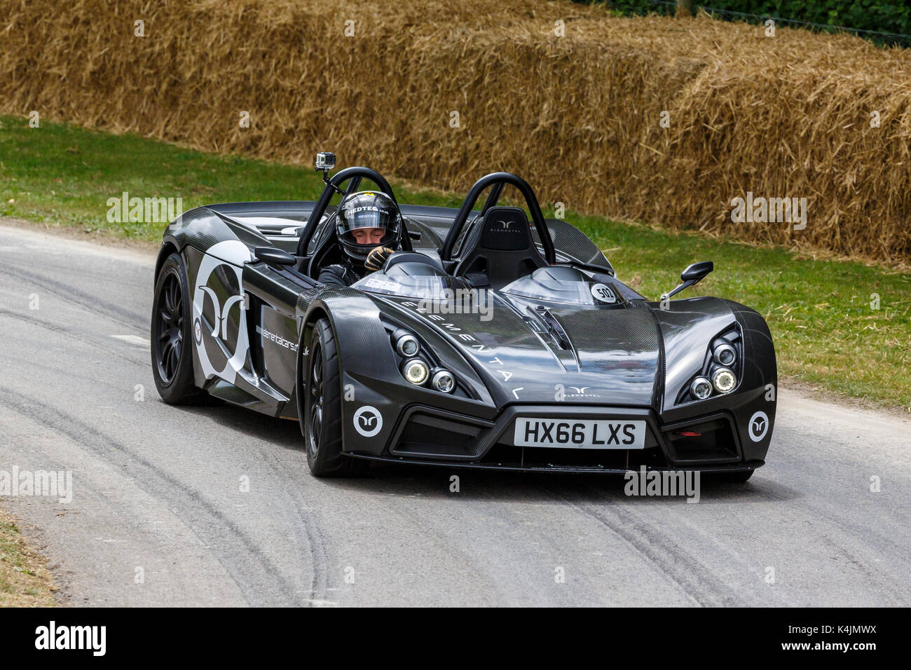 2016 Elemental RP1 at the 2017 Goodwood Festival of Speed, Sussex, UK. - Stock Image