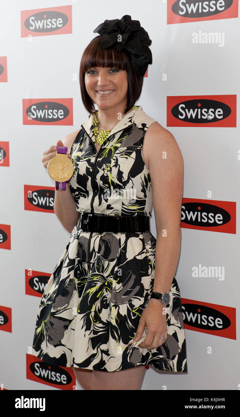Anna Meares at the Melbourne Cup, Tuesday November6, 2012 - Stock Image