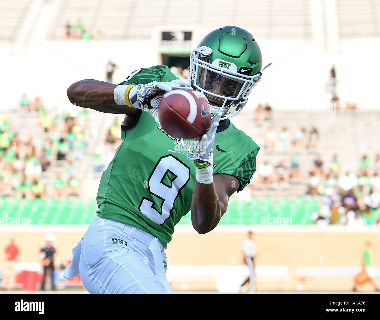 new arrival 1f488 d206c September 2, 2017: .North Texas Mean Green wide receiver ...