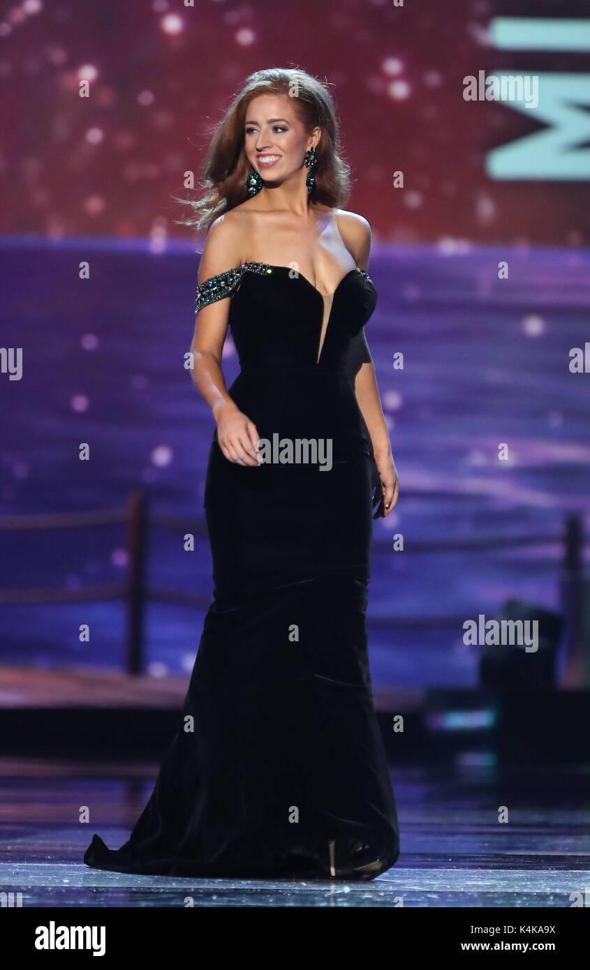 Atlantic City, NJ, USA. 6th Sep, 2017. 06 September 2017 - Atlantic City, NJ- Miss Minnesota Brianna Drevlow. 2017 - Stock Image