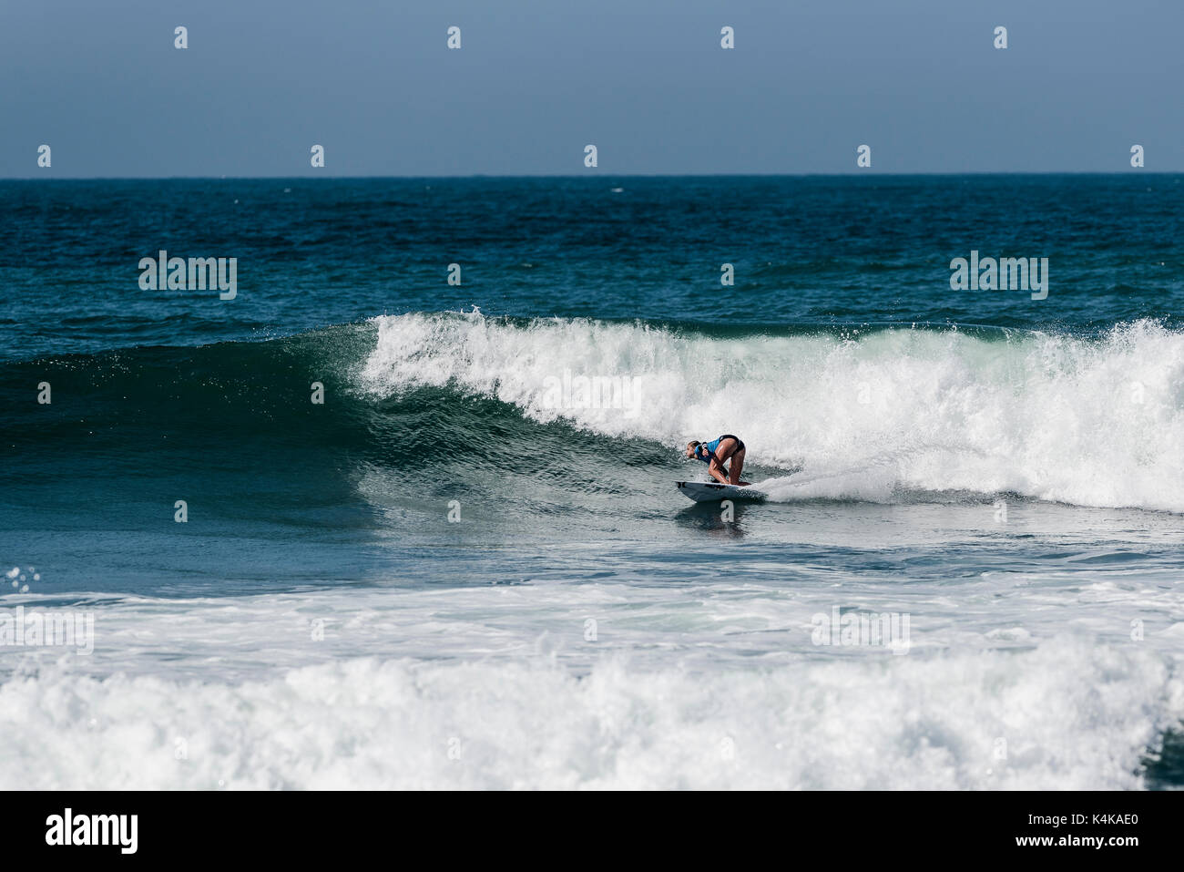 San Clemente, USA. 06th Sep, 2017. Round one of surfing at the 2017 Swatch Women's Pro at Lower Trestles, San Onofre Stock Photo