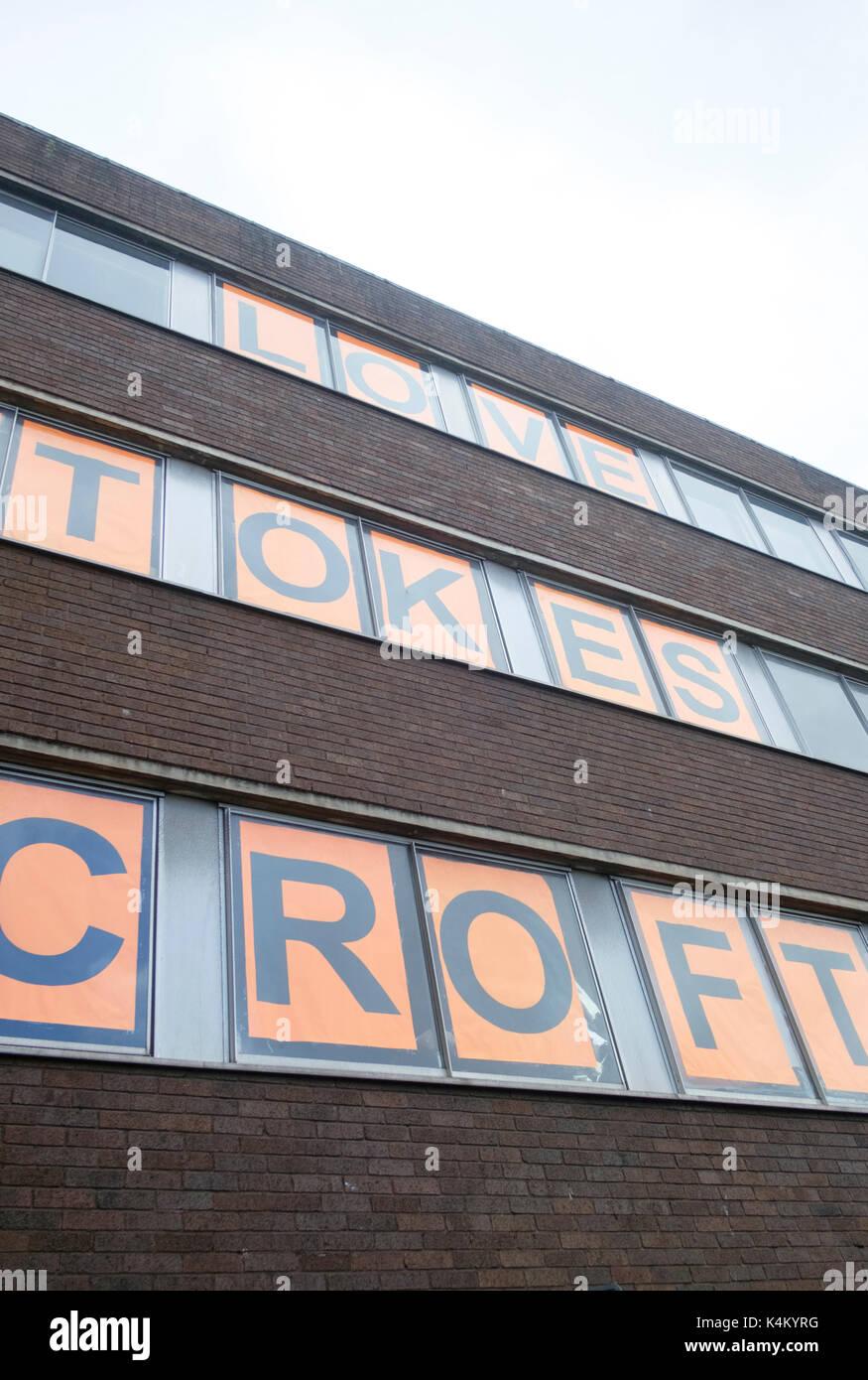 Around Stokes croft Bristol england EUK - Stock Image