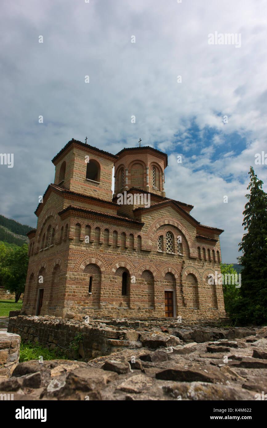 The Bulgarian Orthodox Church of St. Demetrius of Thessaloniki. - Stock Image
